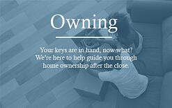New Home Owner's Guide